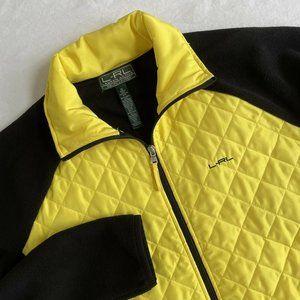 Ralph Lauren LRL Active full zip yellow Jacket XL